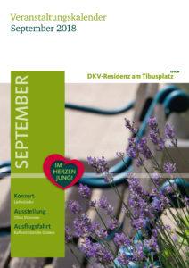 Veranstaltungskalender September 2018, Residenz Münster
